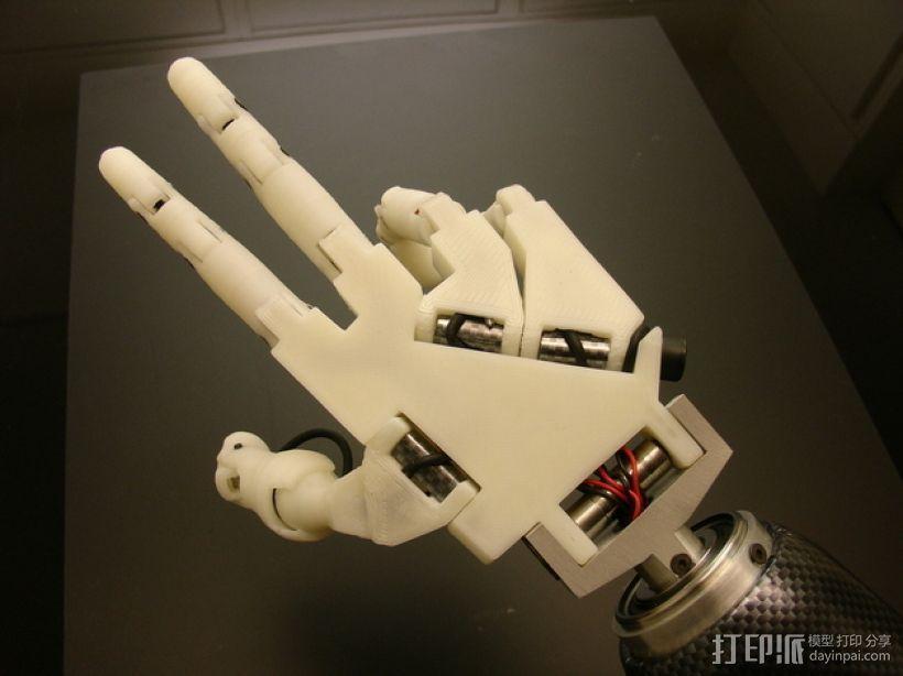 InMoov机械手 3D模型  图22
