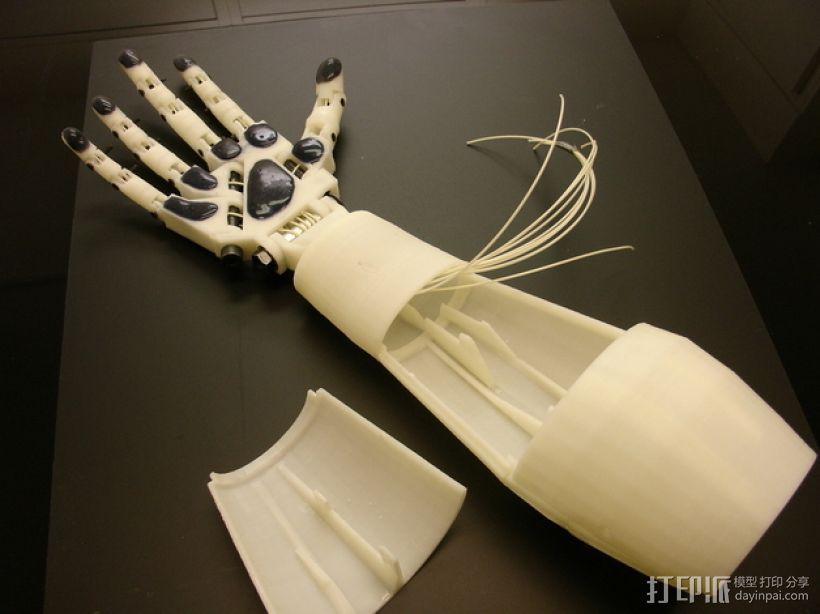 InMoov机械手 3D模型  图23