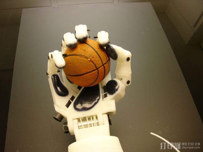 InMoov机械手 3D模型  图24