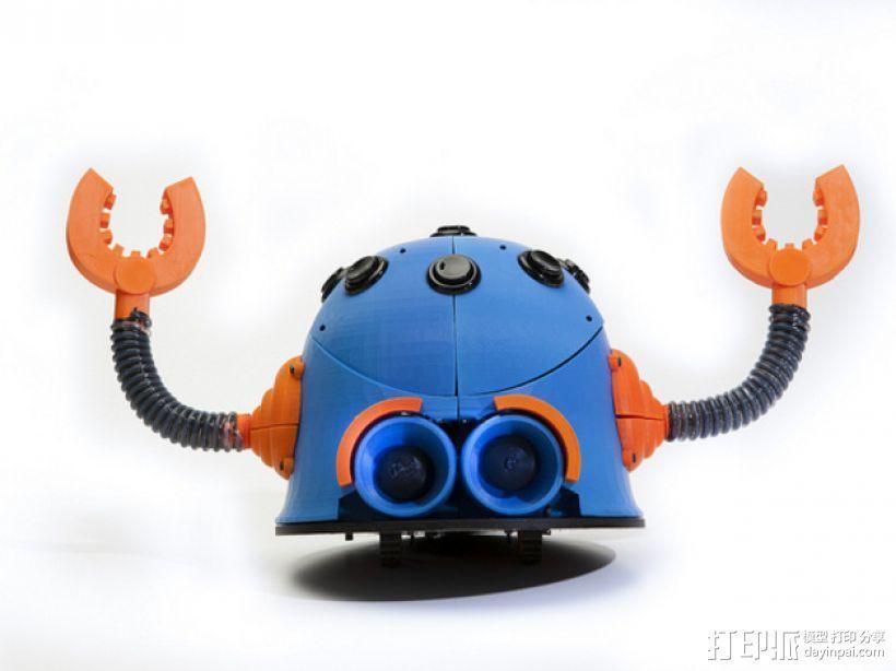 Button Bot机器人 3D模型  图1