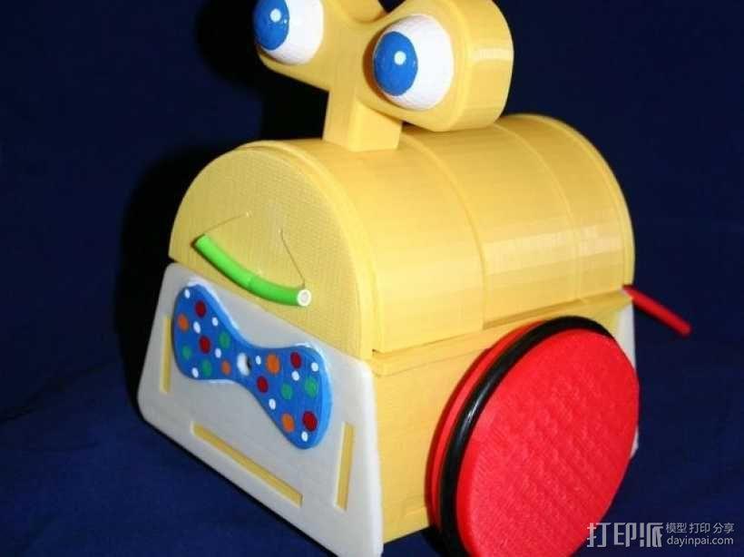 Tyree机器人 3D模型  图1