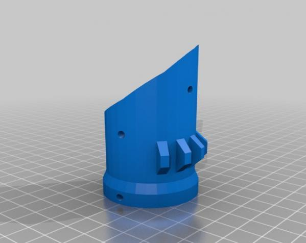 Bumper Bot机器人 3D模型  图4
