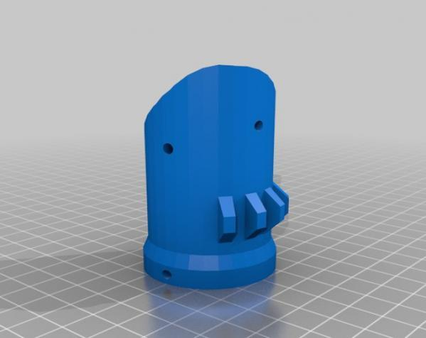 Bumper Bot机器人 3D模型  图3