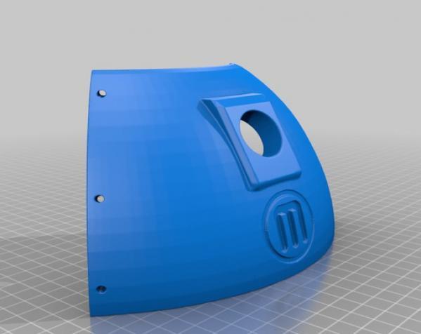 Bumper Bot机器人 3D模型  图15