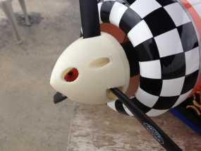 遥控飞机螺旋桨整流罩 3D模型