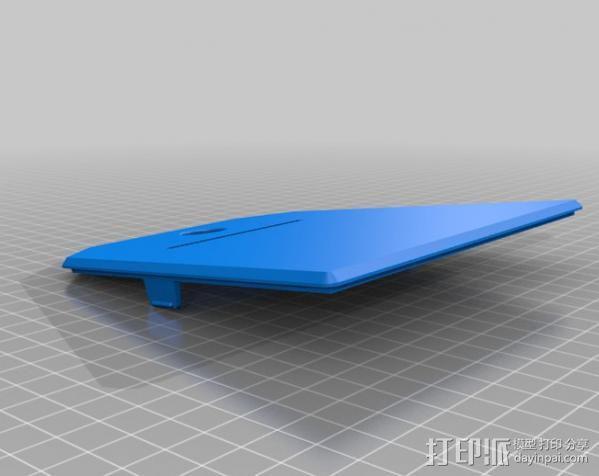 Adafruit IoT热敏打印机外壳 3D模型  图4