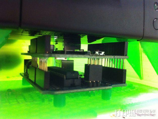 Adafruit IoT热敏打印机外壳 3D模型  图8