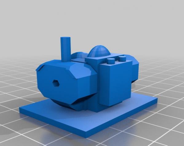 模块化参数机器人 3D模型  图11
