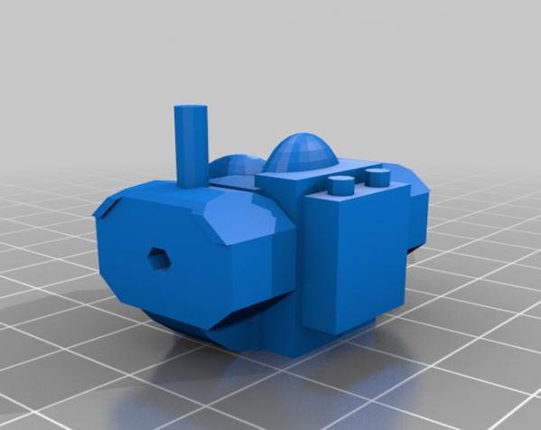模块化参数机器人 3D模型  图10