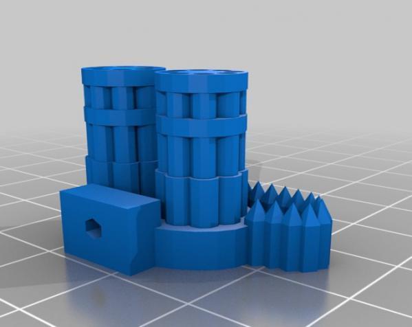 模块化参数机器人 3D模型  图12
