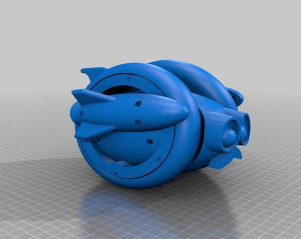 Wheely车轮机器人 3D模型  图26