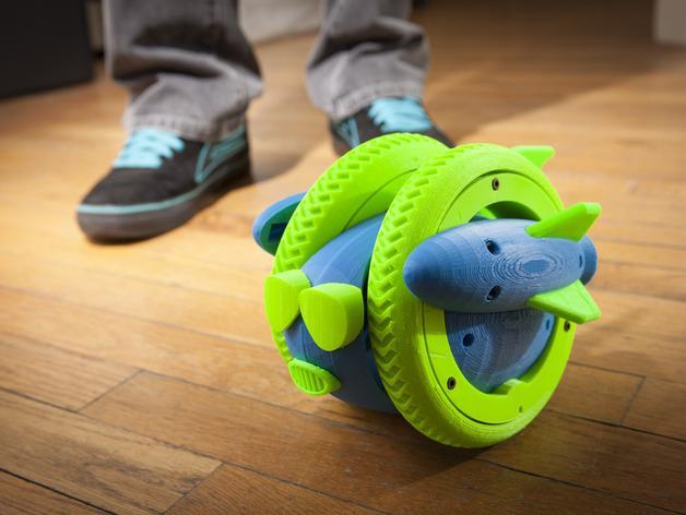 Wheely车轮机器人 3D模型  图29
