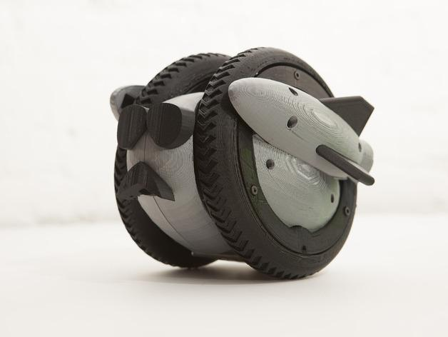 Wheely车轮机器人 3D模型  图27
