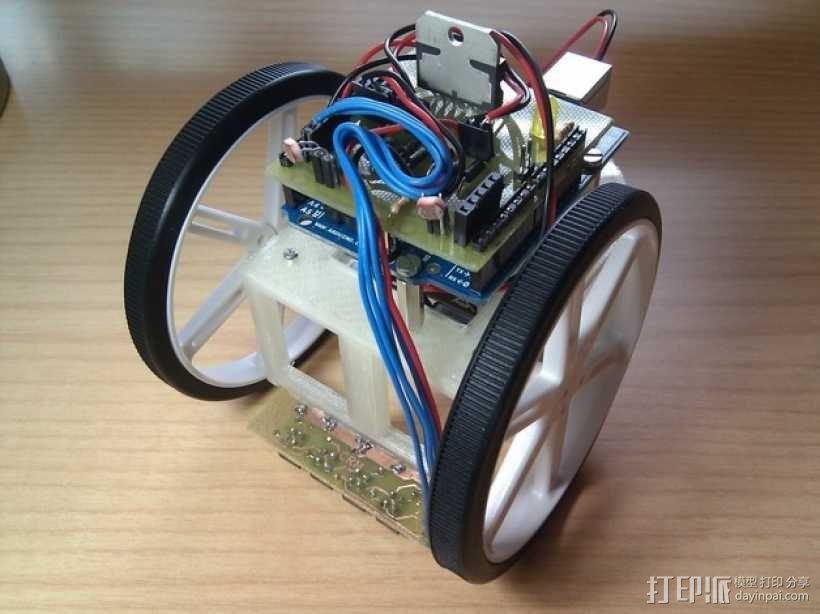 Arduino HKTR-9000机器人 3D模型  图1