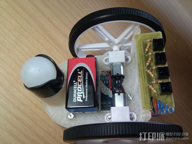 Arduino HKTR-9000机器人 3D模型  图6