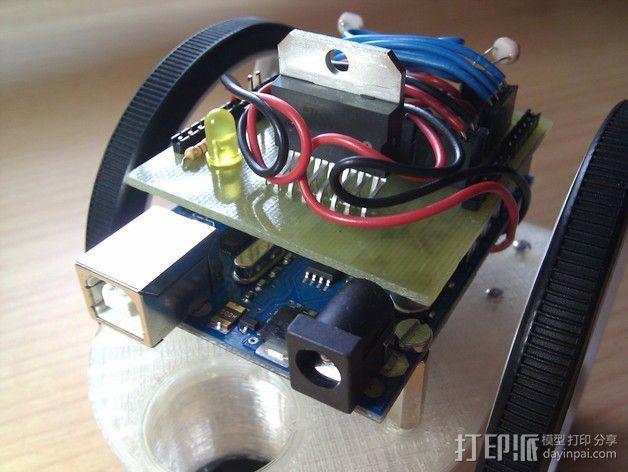 Arduino HKTR-9000机器人 3D模型  图7