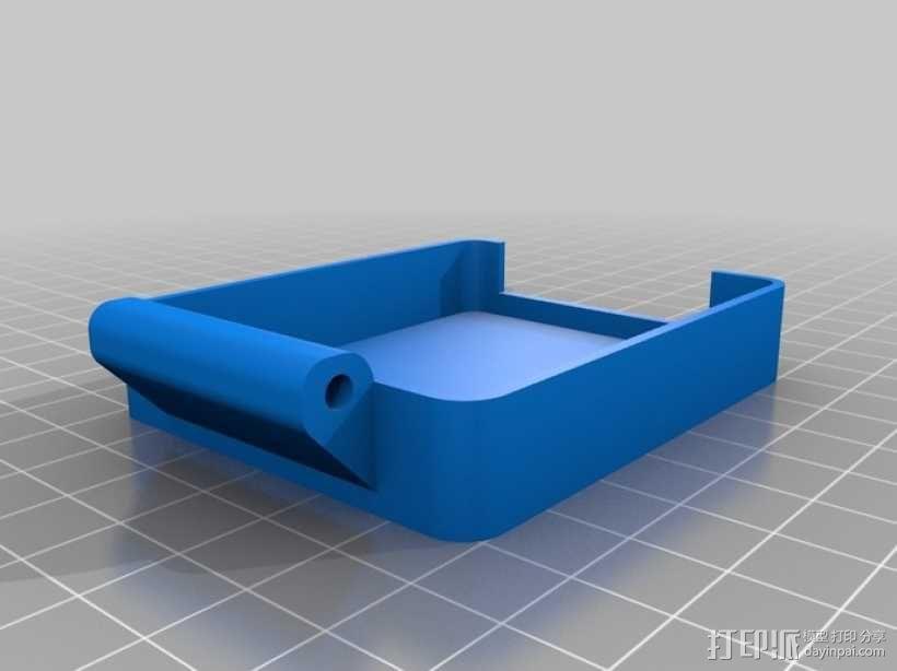 Arduino保护盒 3D模型  图1
