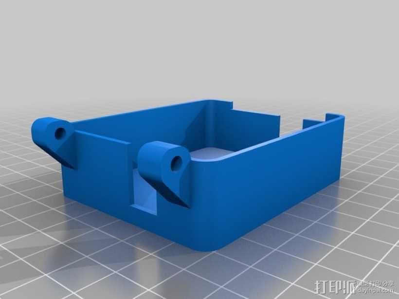 Arduino保护盒 3D模型  图3