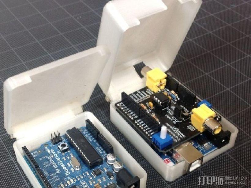 Arduino保护盒 3D模型  图5