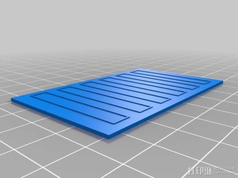 """""""铃木武士""""吉普车车身 3D模型  图5"""
