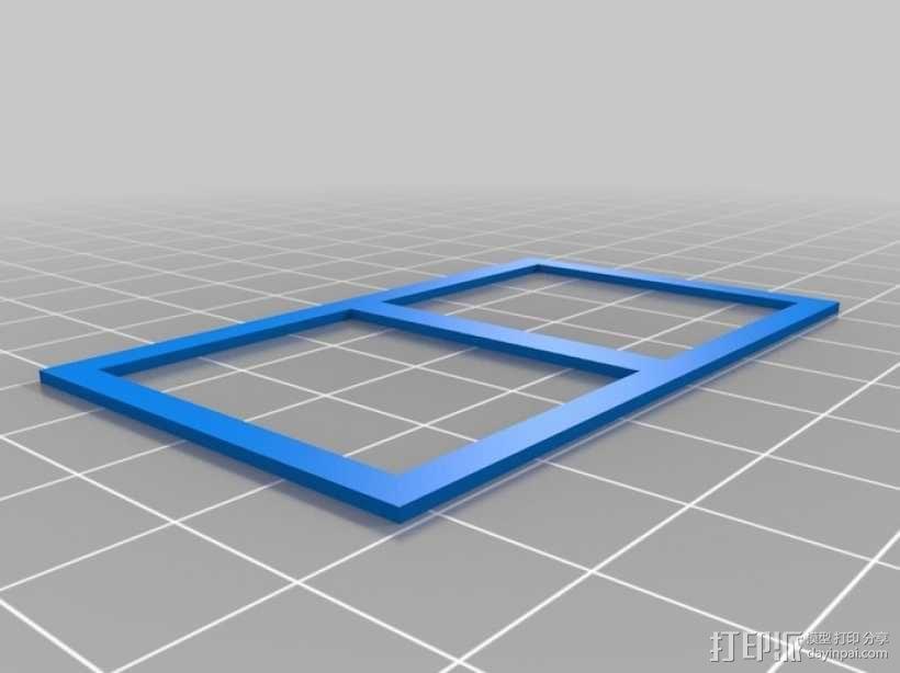 """""""铃木武士""""吉普车车身 3D模型  图9"""