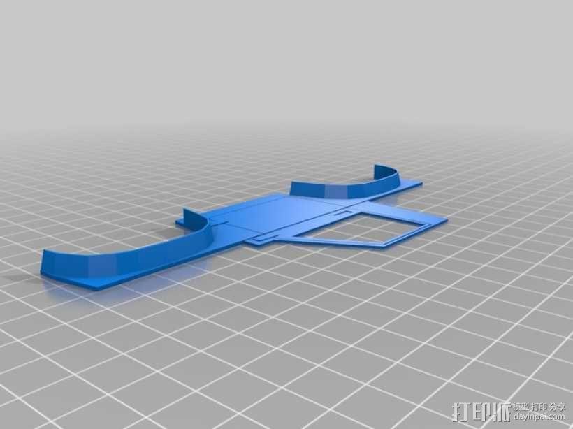 """""""铃木武士""""吉普车车身 3D模型  图10"""