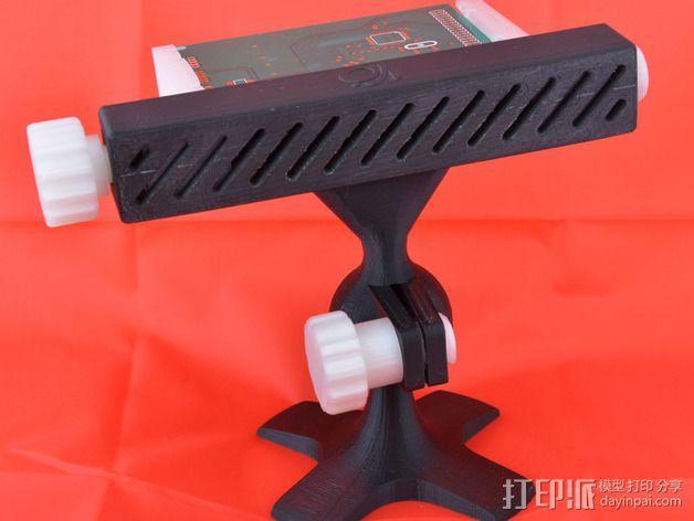 PCB台虎钳 3D模型  图2