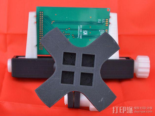 PCB台虎钳 3D模型  图3