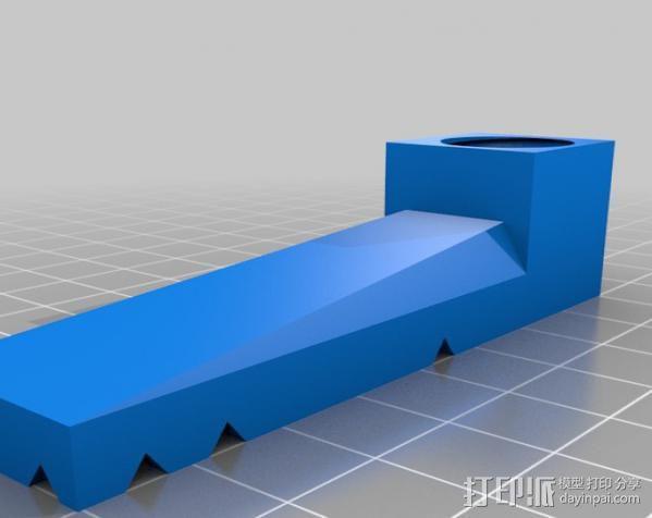 PCB台虎钳 3D模型  图7
