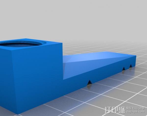 PCB台虎钳 3D模型  图6