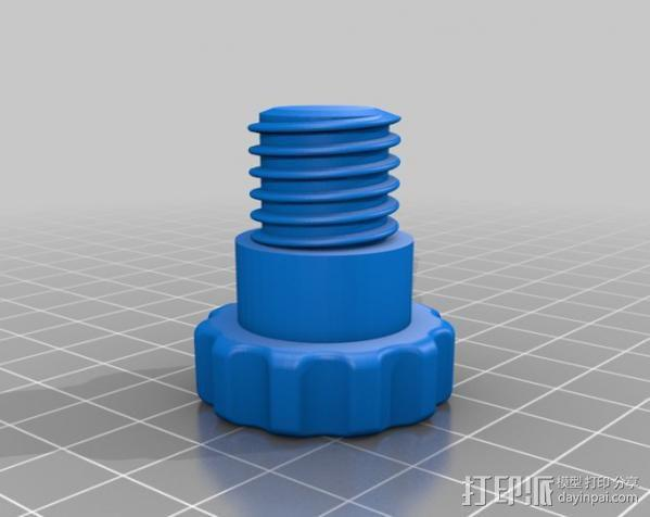 PCB台虎钳 3D模型  图9