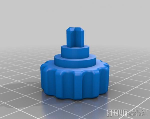 PCB台虎钳 3D模型  图11