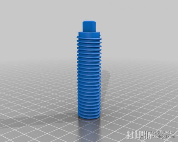 PCB台虎钳 3D模型  图14