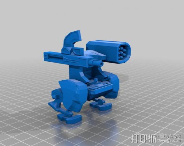迷你机械玩偶 3D模型  图2