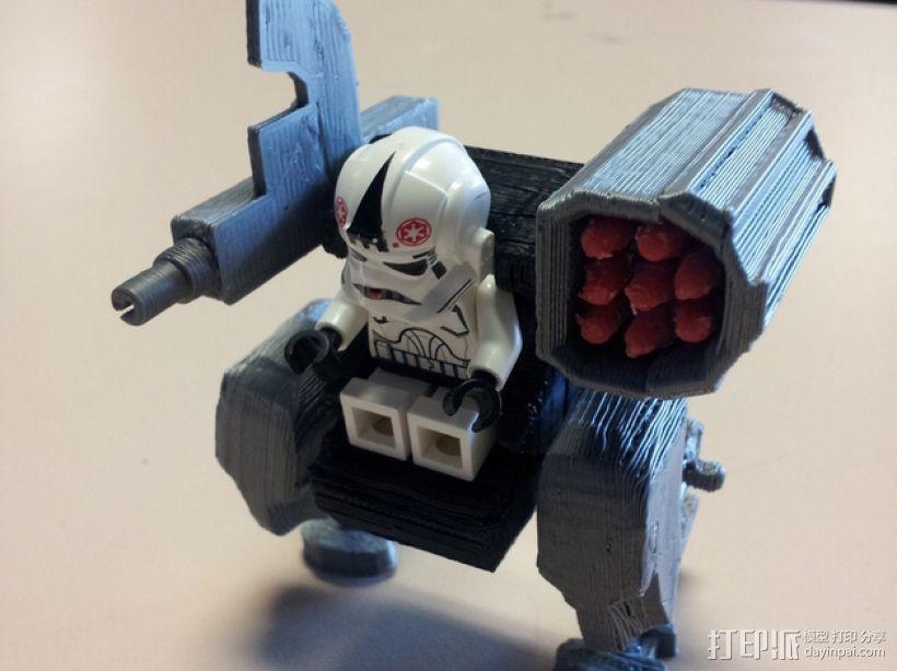 迷你机械玩偶 3D模型  图1
