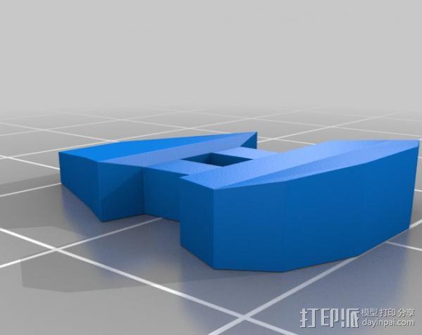 迷你机械玩偶 3D模型  图4