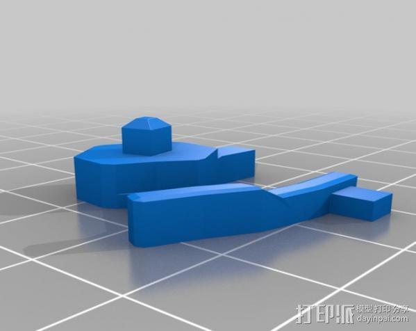 迷你机械玩偶 3D模型  图15
