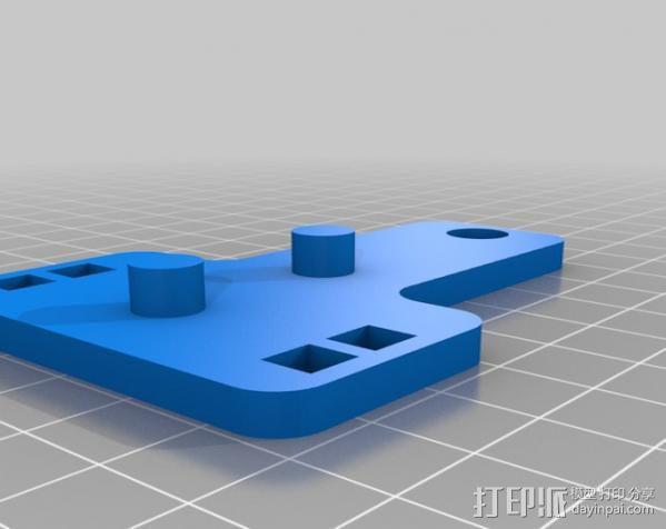 简易机电式计算机 3D模型  图4