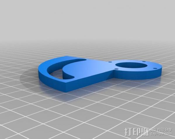 简易机电式计算机 3D模型  图7