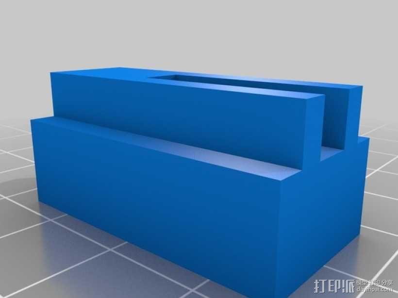4缸电动马达 3D模型  图4