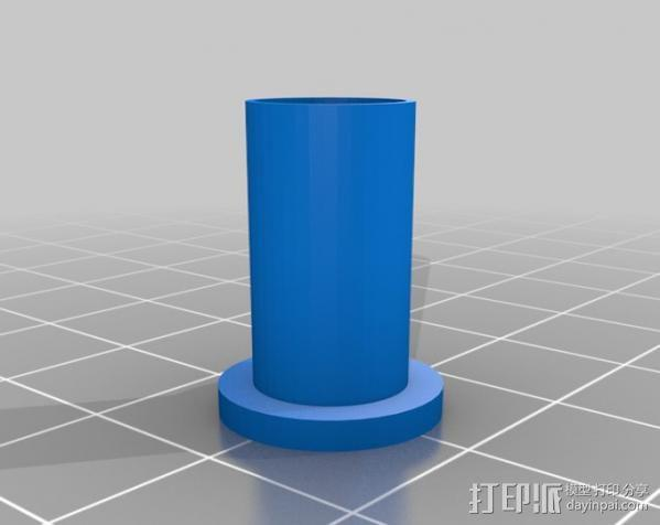 4缸电动马达 3D模型  图13