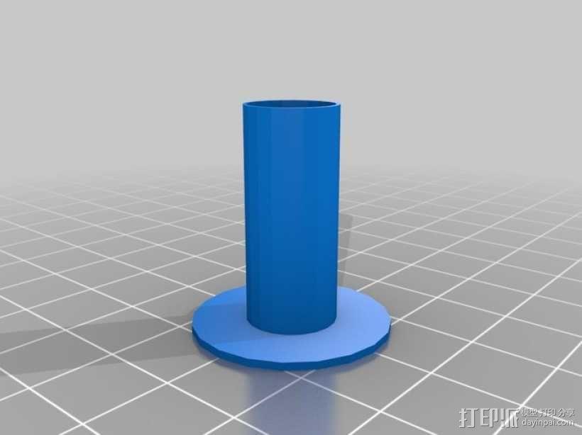 4缸电动马达 3D模型  图16