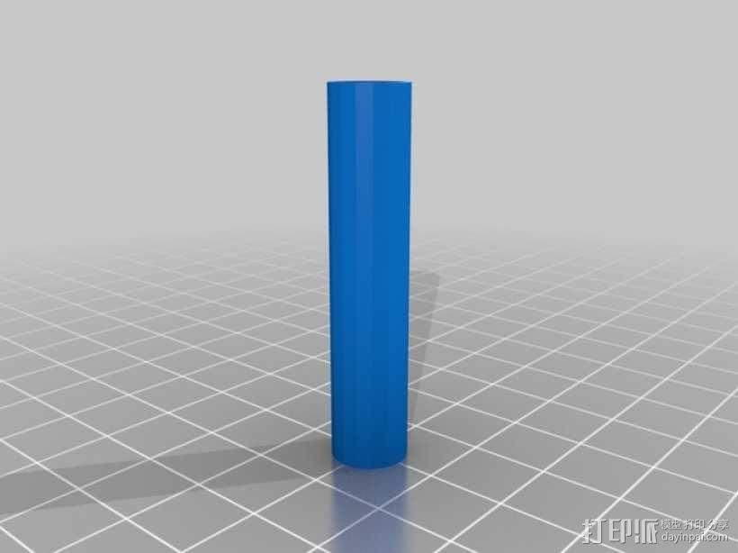 4缸电动马达 3D模型  图18