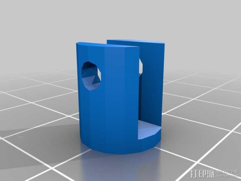 4缸电动马达 3D模型  图19