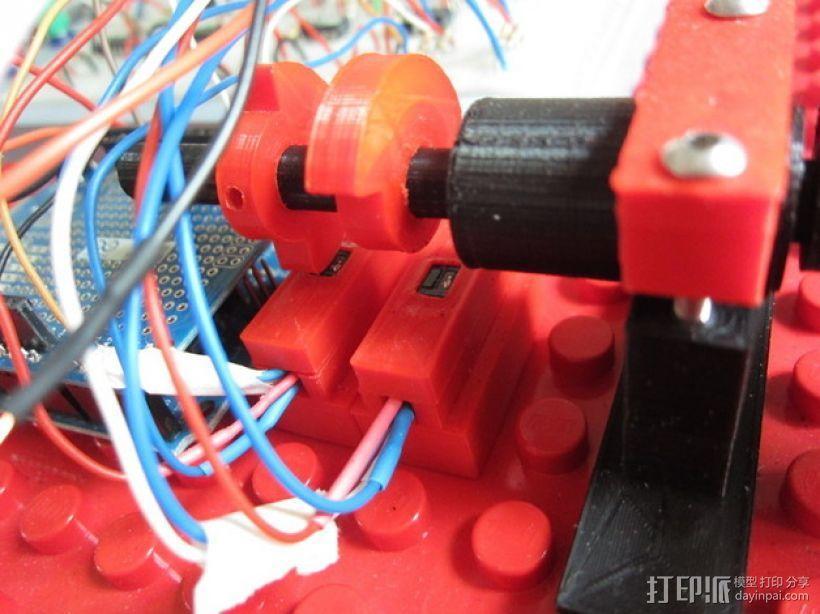 4缸电动马达 3D模型  图23