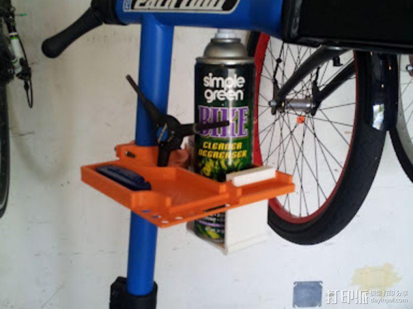 自行车工具架 3D模型  图3