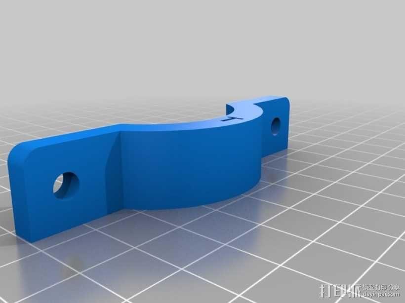 自行车工具架 3D模型  图2