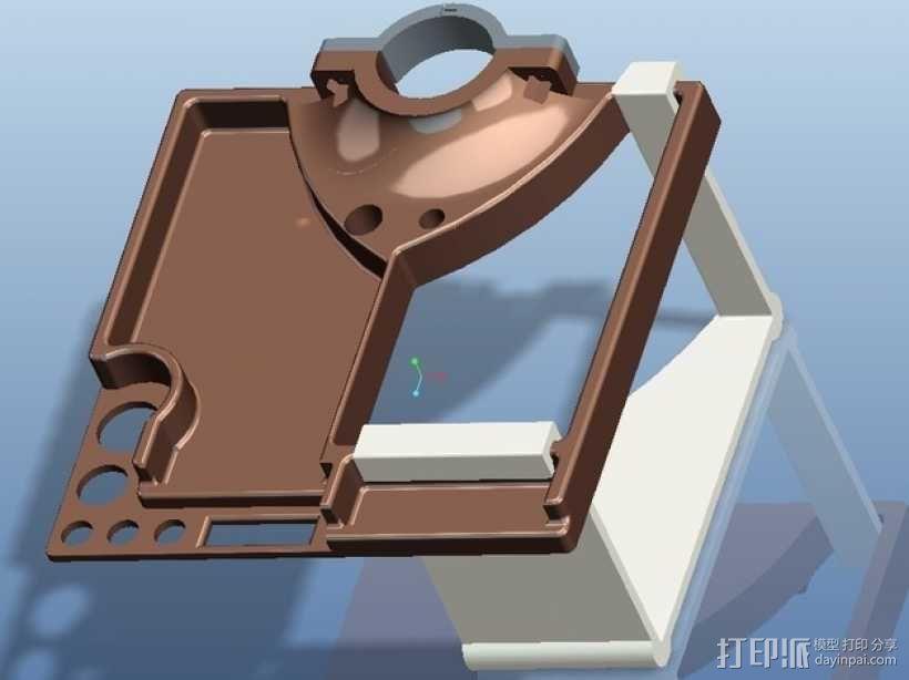 自行车工具架 3D模型  图7