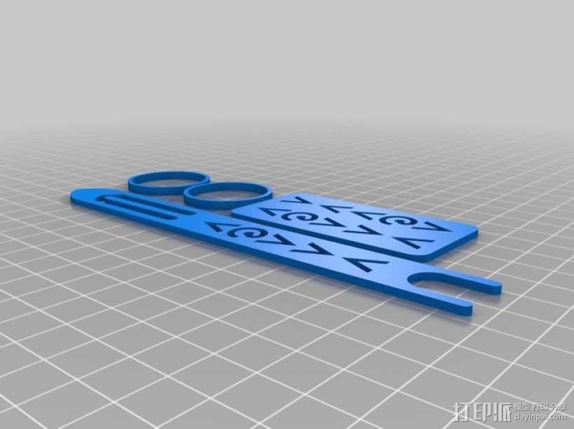网络编制工具 3D模型  图1