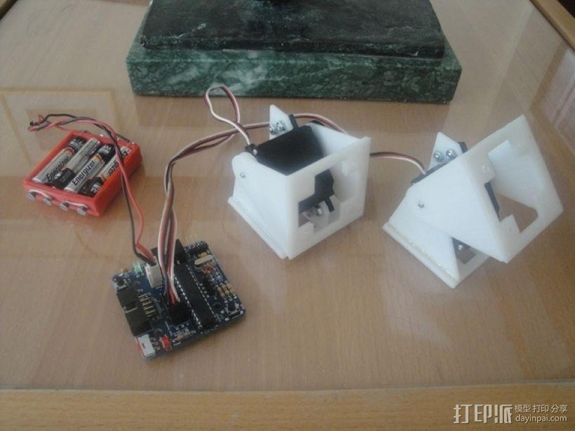 ArduSnake:Arduino模块化蛇形机器人 3D模型  图3